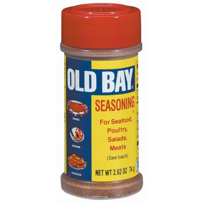 Old Bay For Seafood Poultry Salads & Meats Seasoning 2.62 Oz Shaker (Pack of 12)