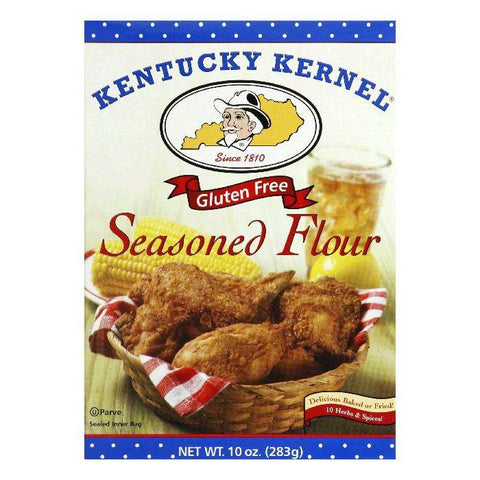 Kentucky Kernal Gluten Free Seasoned Flour, 10 Oz (Pack of 6)