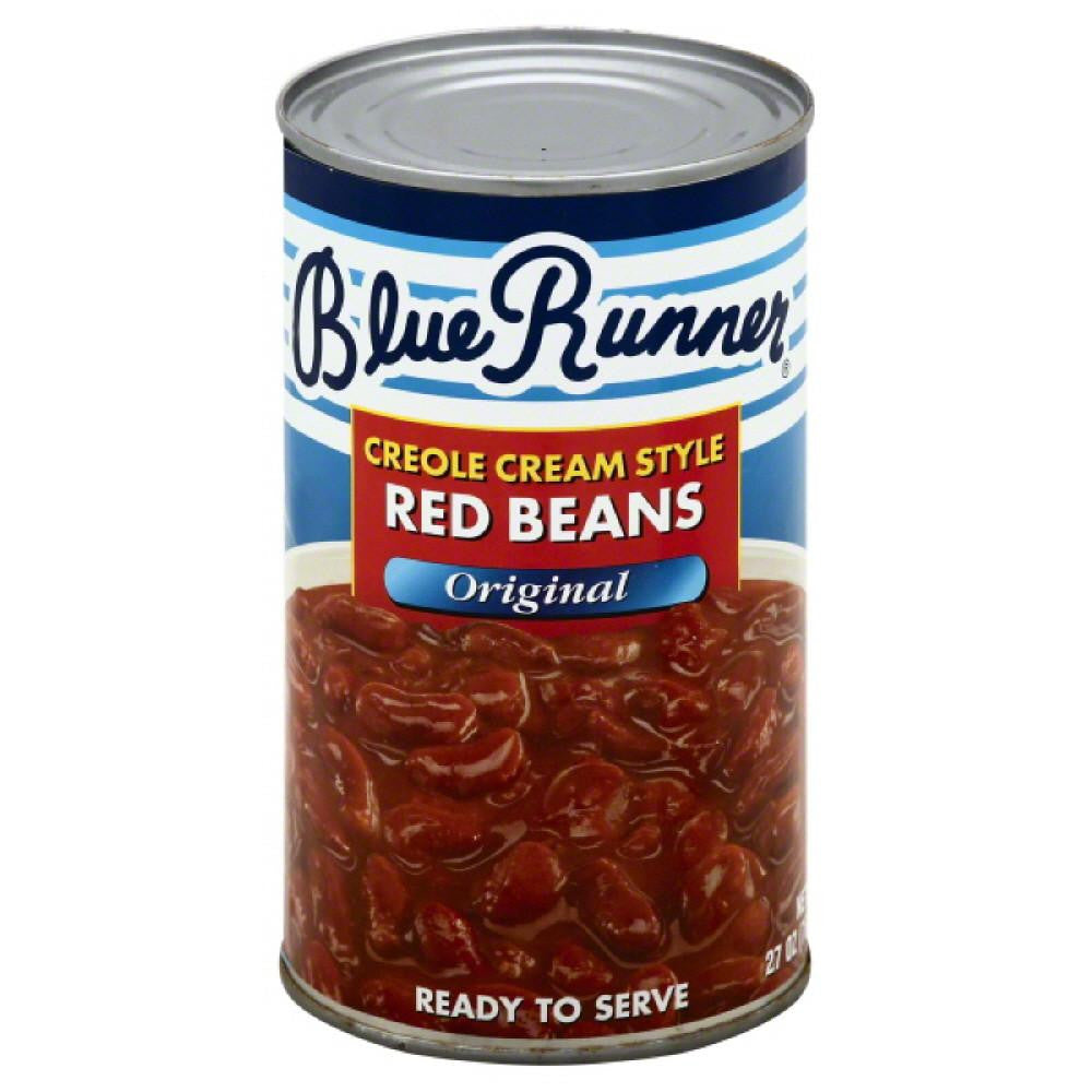 Blue Runner Original Creole Cream Style Red Beans, 27 Oz (Pack of 12)