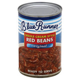 Blue Runner Original Creole Cream Style Red Beans, 16 Oz (Pack of 12)