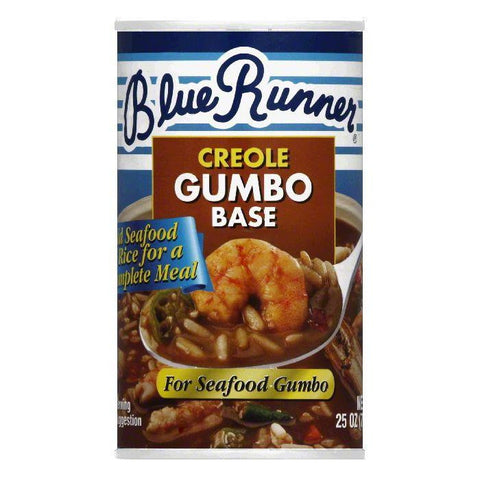 Blue Runner Creole Gumbo Base, 25 OZ (Pack of 6)