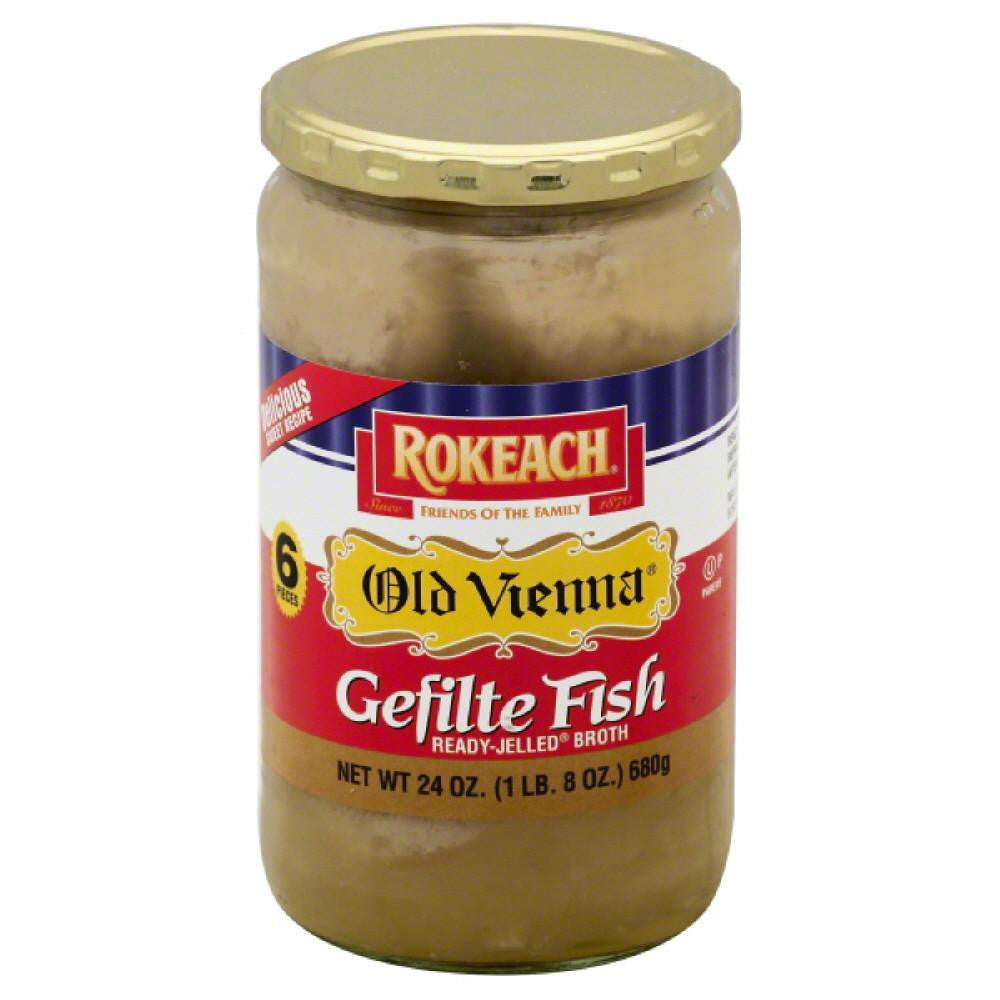 Rokeach Gefilte Fish, 24 Oz (Pack of 6)