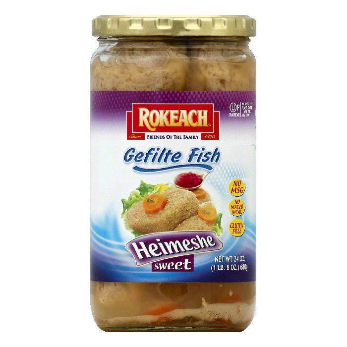 Rokeach Heimeshe Sweet Gefilte Fish, 24 OZ (Pack of 12)