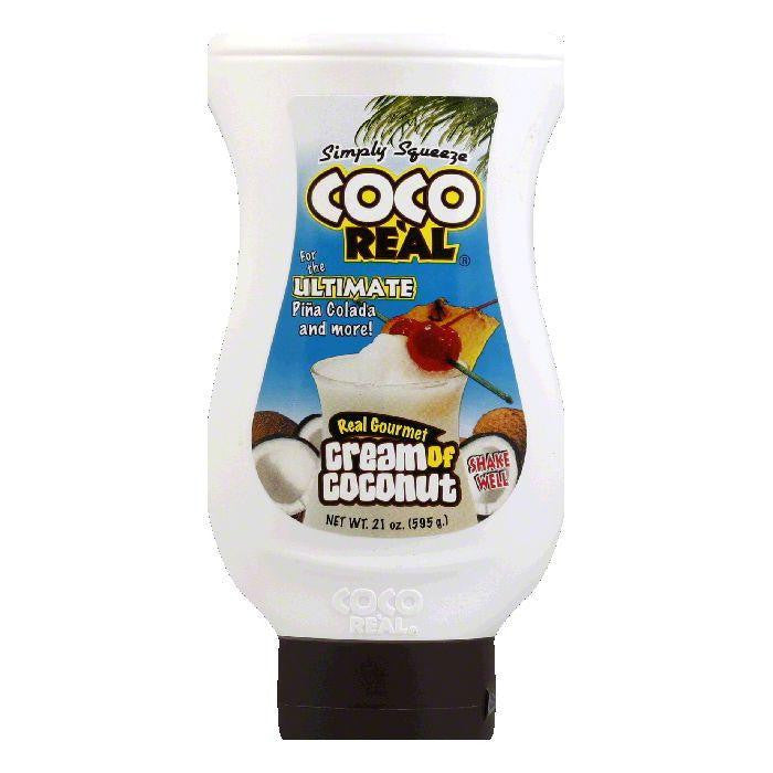 Master of Mixes Coco Real Cream of Coconut, 21 FO (Pack of 12)