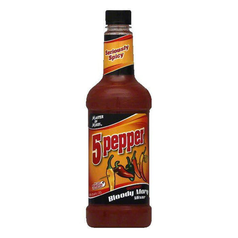 Master of Mixes Bloody Mary Spicy, 33.8 OZ (Pack of 6)