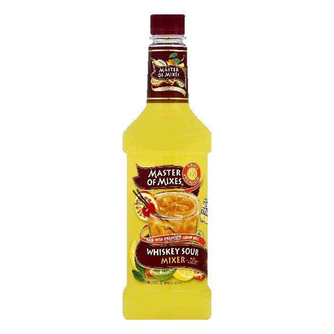 Master Of Mixes Whiskey Sour Mixer, 33.8 OZ (Pack of 6)