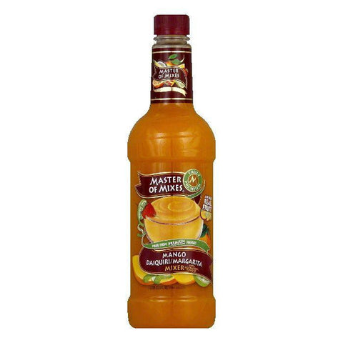 Master of Mixes Mango Margarita & Daiquiri Mix, 33.8 OZ (Pack of 6)