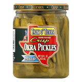 Talk O' Texas Okra Mild, 16 OZ (Pack of 12)