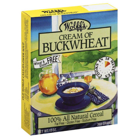 Wolffs Cream of Buckwheat, 13 Oz (Pack of 6)