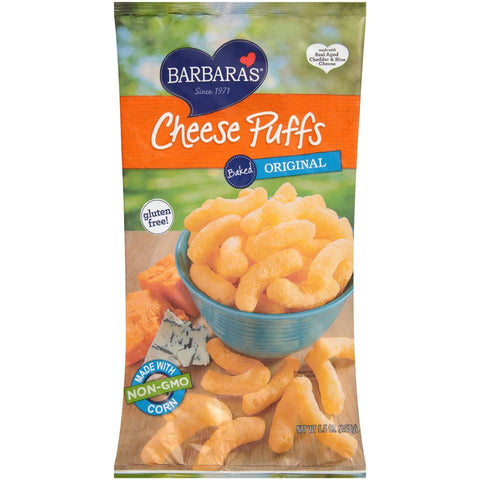 Barbaras Original Baked Cheese Puffs, 5.5 Oz (Pack of 12)