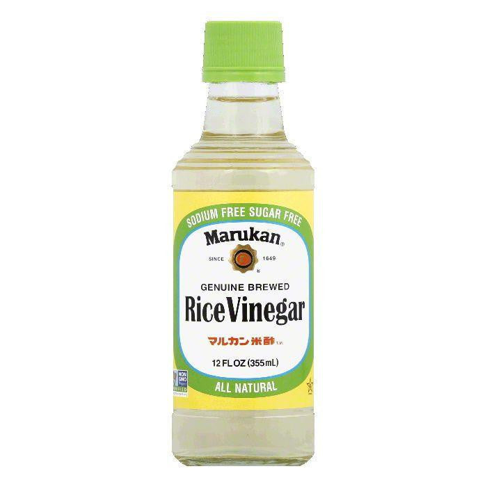 Marukan Rice Vinegar, 12 FO (Pack of 6)
