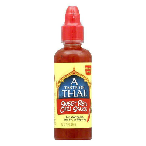 A Taste of Thai Sweet Red Chili Sauce, 7 OZ (Pack of 6)