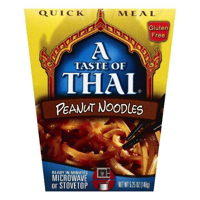 A Taste of Thai Peanut Noodles, 5.25 OZ (Pack of 6)