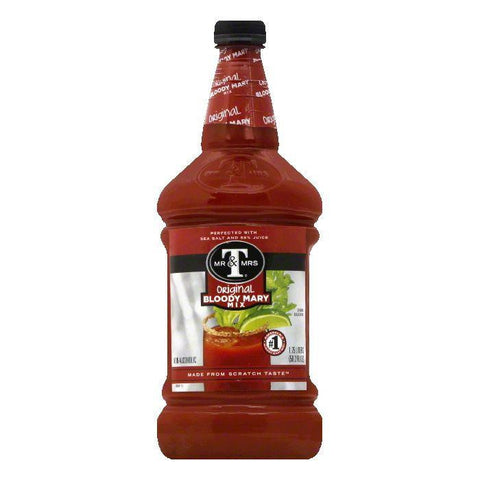 Mr & Mrs T Original Bloody Mary Mix, 1.75 LT (Pack of 6)