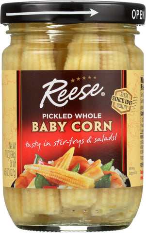 Reese Baby Corn/Glass, 7 OZ (Pack of 6)