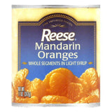 Reese Mandarin Orange Fancy Whole Segments, 11 OZ (Pack of 24)