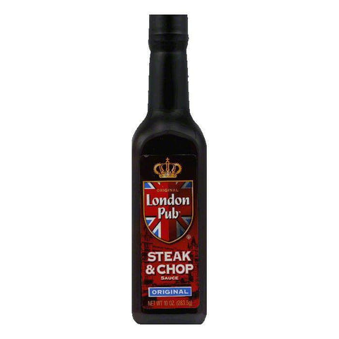 London Pub Steak And Chop Sauce, 10 OZ (Pack of 12)