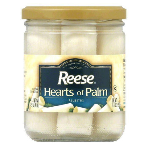 Reese Hearts Of Palm/Glass, 14.8 OZ (Pack of 12)