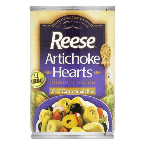 Reese Artichoke Hearts 10-12, 14 OZ (Pack of 12)