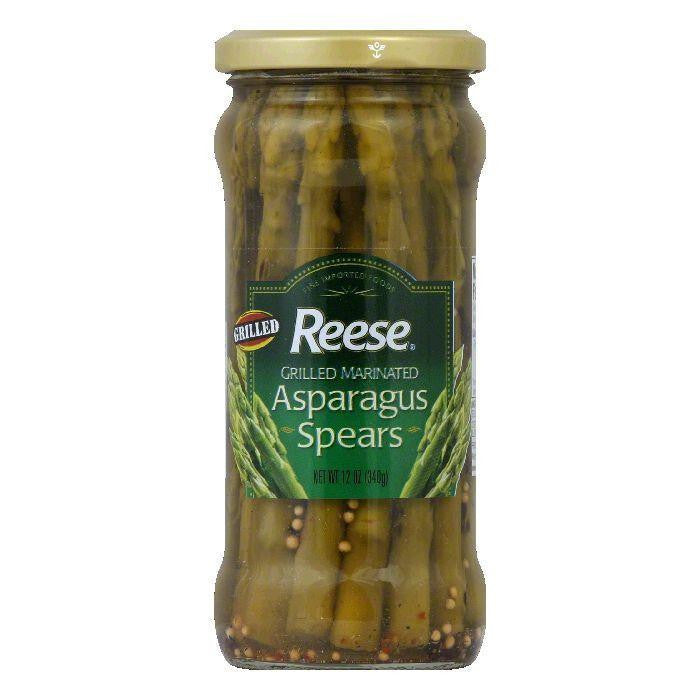 Reese Grilled Marinated Asparagus Spears, 15 OZ (Pack of 6)
