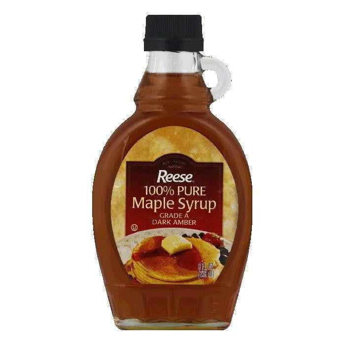 Reese Pure Maple Syrup, 8 OZ (Pack of 12)