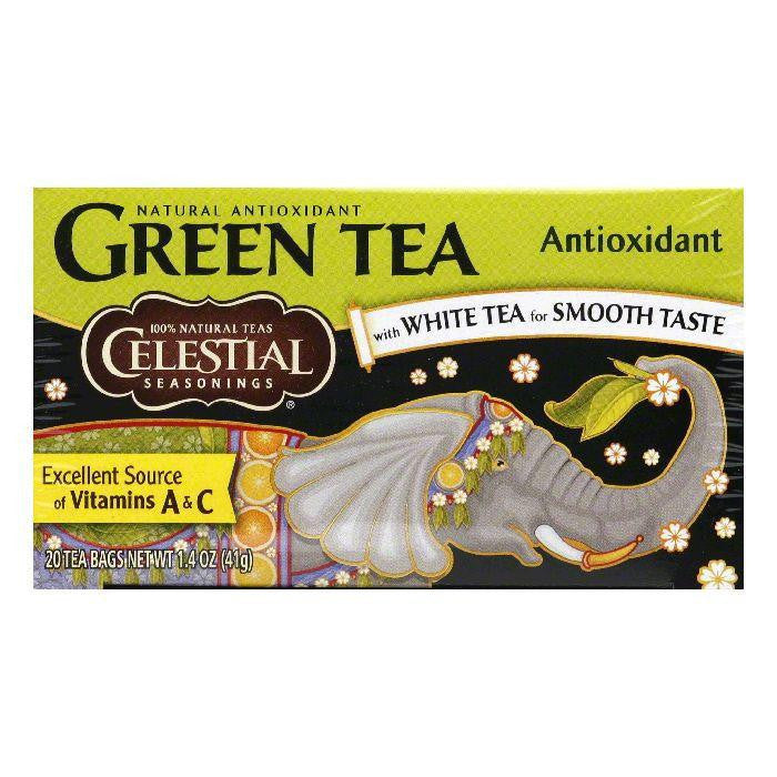 Celestial Seasonings Green Tea Antioxidant, 20 BG (Pack of 6)