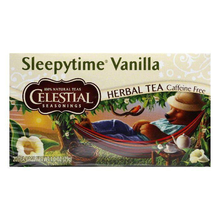 Celestial Seasonings Sleepytime Vanilla, 20 BG (Pack of 6)
