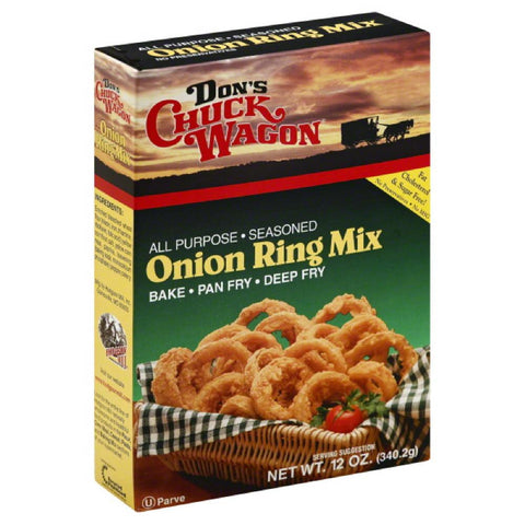 Dons Chuck Wagon Onion Ring Mix, 12 Oz (Pack of 12)