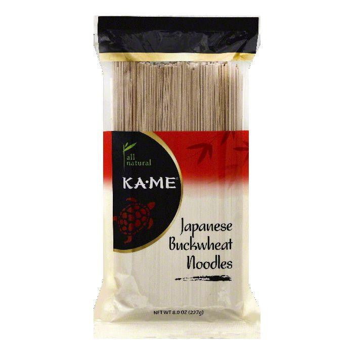 Ka Me Buckwheat Japanese Noodles, 8 OZ (Pack of 12)