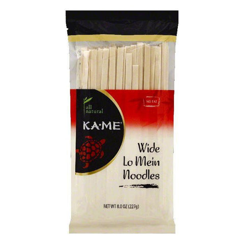 Ka Me Wide Lo Mein Noodles, 8 OZ (Pack of 12)