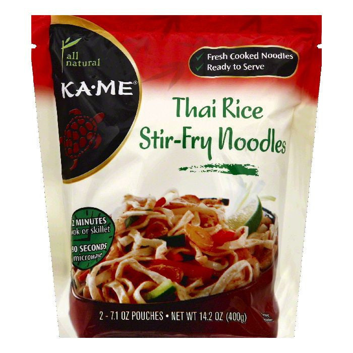 Ka Me Thai Rice Stir-Fry Noodles, 2 ea (Pack of 6)