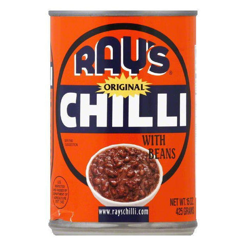 Ray's Chili Original Chilli with Beans, 15 OZ (Pack of 12)