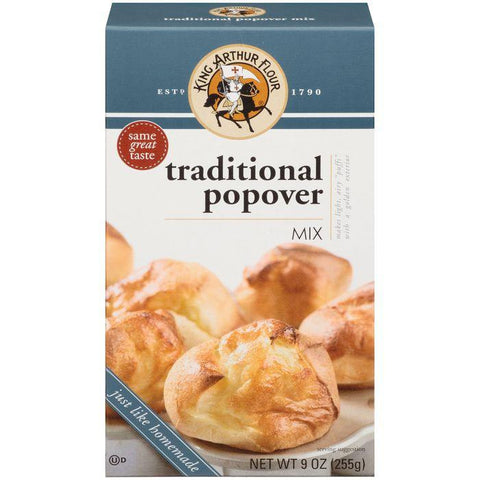 King Arthur Flour Traditional Popover Mix 9 Oz (Pack of 6)
