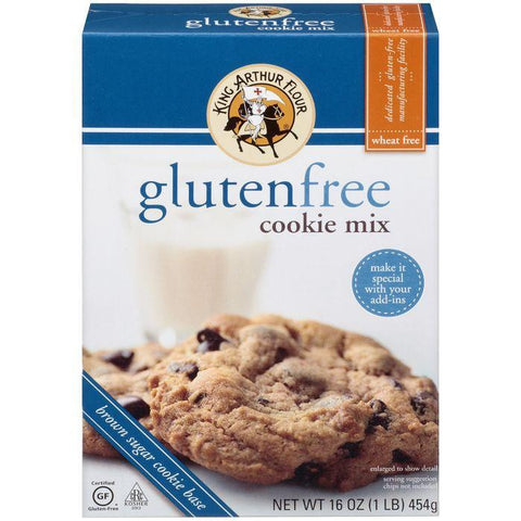 King Arthur Flour Gluten Free Cookie Mix 16 Oz (Pack of 6)