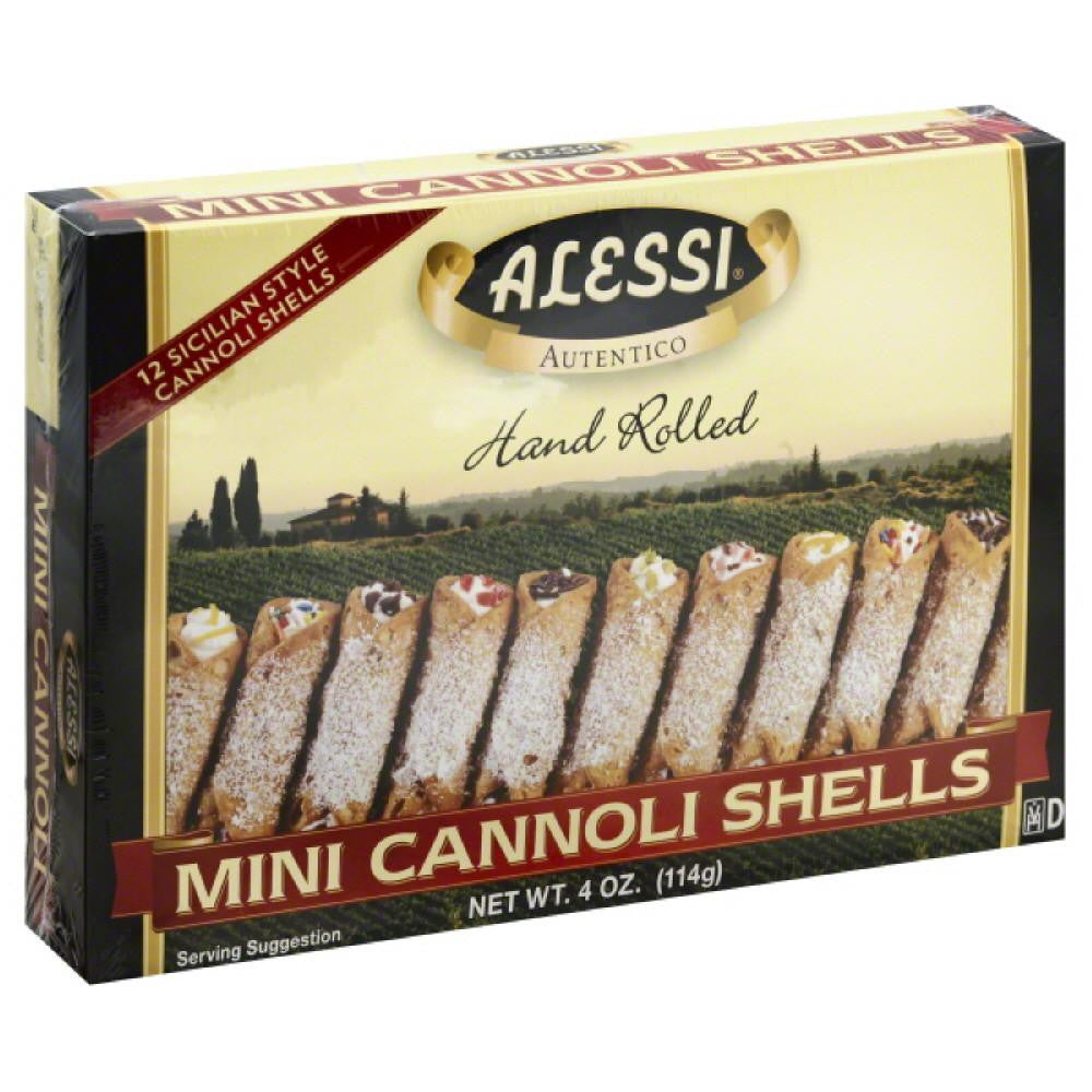 Alessi Mini Cannoli Shells, 3 Oz (Pack of 12)