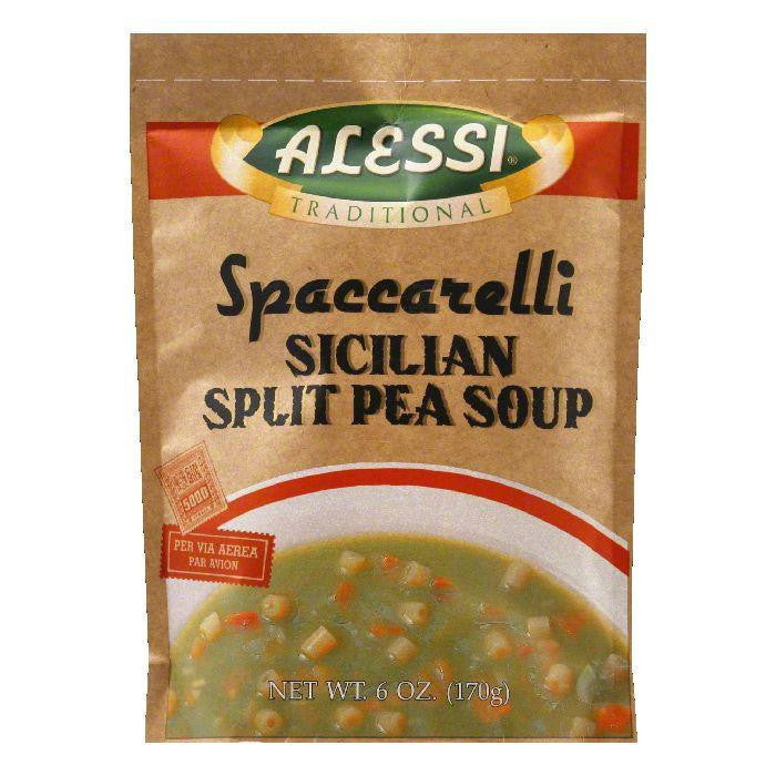 Alessi Soup Split Pea, 6 OZ (Pack of 6)