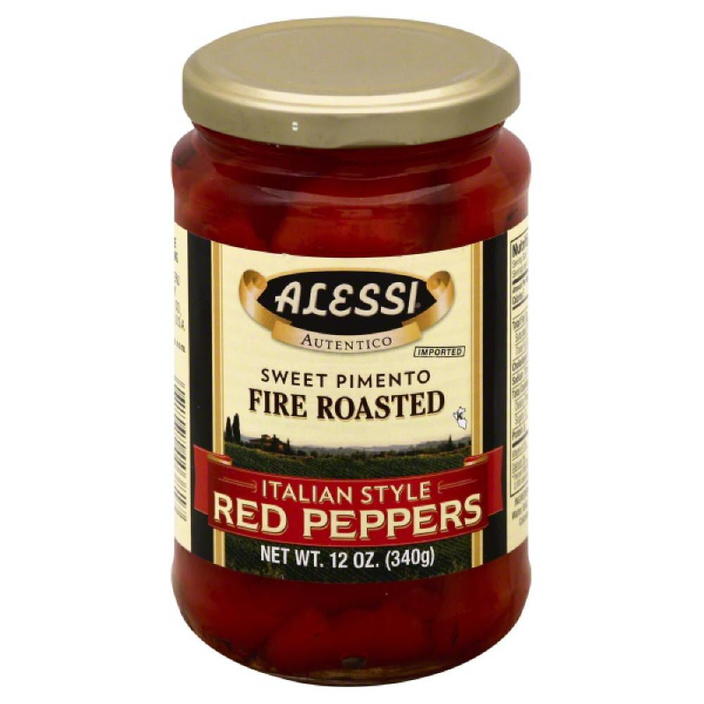 Alessi Italian Style Red Peppers, 12 Oz (Pack of 12)