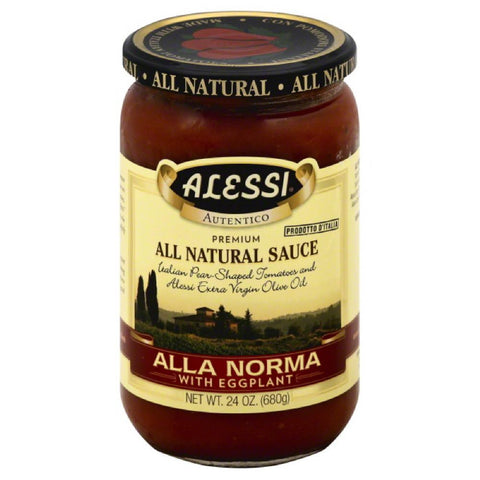 Alessi Alla Norma with Eggplant Pasta Sauce, 24 Oz (Pack of 6)