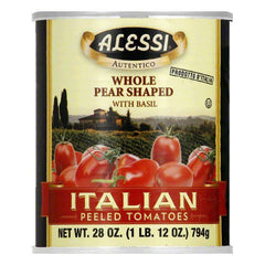 Alessi Peeled Italian Tomato, 28 OZ (Pack of 12)