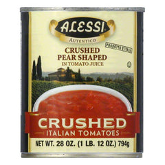 Alessi Crushed Italian Tomatoes, 28 Oz (Pack of 12)