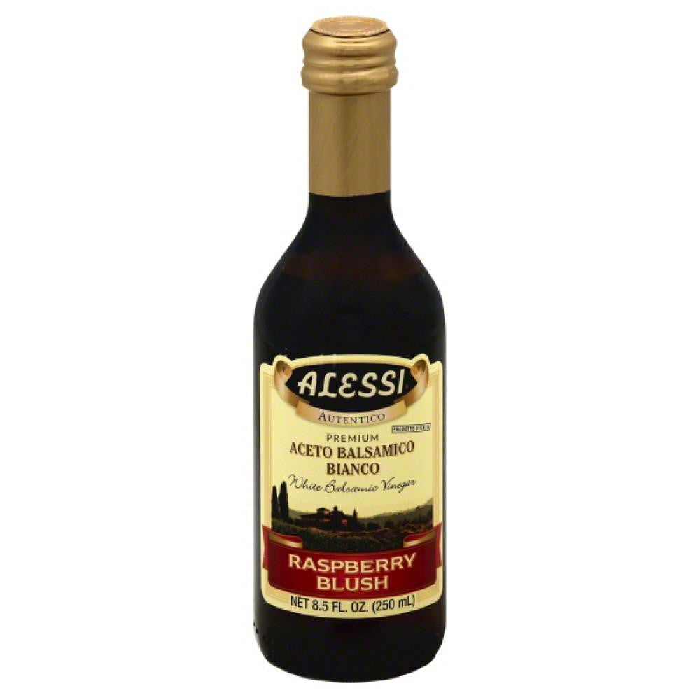Alessi Raspberry Blush White Balsamic Vinegar, 8.5 Oz (Pack of 6)