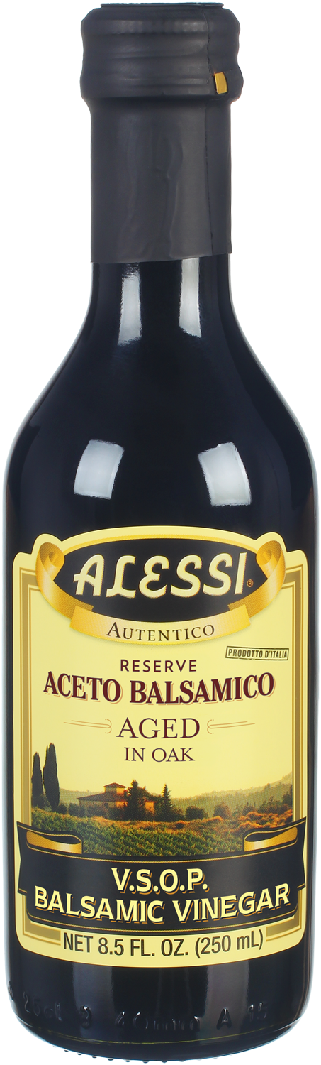 Alessi V. S. O. P. (Very Superior Old Product) Balsamic Vinegar Aged in Oak, 8.5 Oz (Pack of 6)