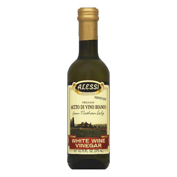 Alessi Vinegar Imported White Wine, 12.75 OZ (Pack of 6)