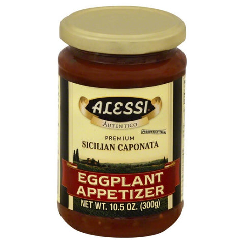 Alessi Eggplant Appetizer, 10.5 Oz (Pack of 12)