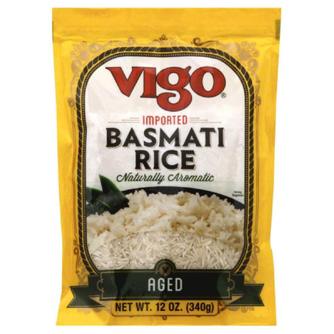 Vigo Aged Basmati Rice, 12 Oz (Pack of 6)