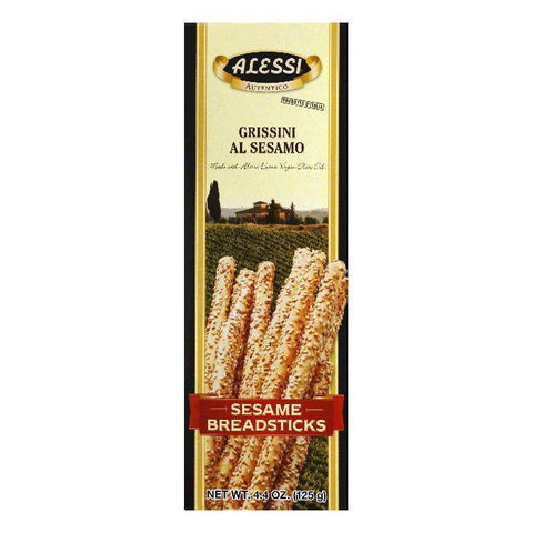 Alessi Breadsticks Sesame, 4.4 OZ (Pack of 12)