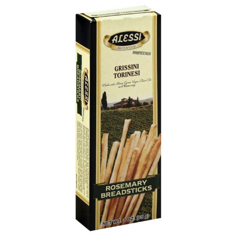 Alessi Rosemary Breadsticks, 3 Oz (Pack of 12)