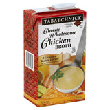 Tabatchnick Classic Wholesome Chicken Broth, 32 Oz (Pack of 12)