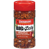 Zatarain's Big & Zesty Original Creole Seasoning 5.25 Oz Shaker (Pack of 6)