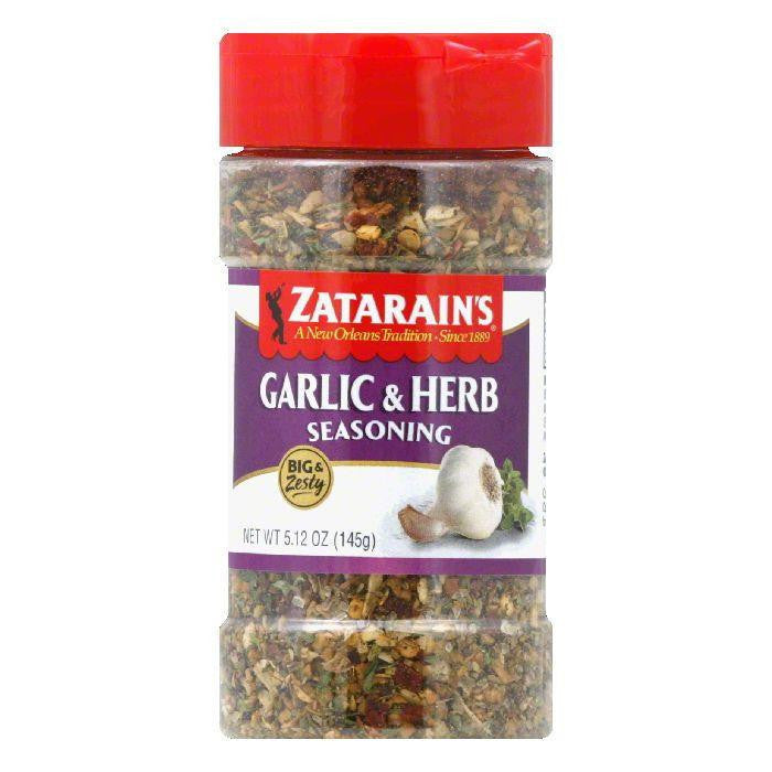 Zatarain's Big Zesty Spice Garlic Herb, 5.12 OZ (Pack of 6)